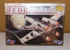 Star Wars Return of the Jedi ROTJ X-Wing Fighter Model Kit 1983 MPC MIP SEALED