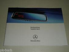 Betriebsanleitung Handbuch Mercedes Benz T245 B-Klasse Taxi Taxameter, 07/2006