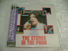 THE ROLLING STONES-THE STONES IN THE PARK JAPAN