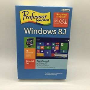 Individual Software Professor Teaches Windows 8.1 Free Ship New