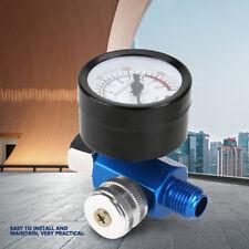 """1/4"""" Mini Druckminderer mit Manometer Druckluft Druckregler Druckregulierung"""