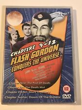 Flash Gordon Conquers The Universe Vol. 3 CHAPTERS EPISODE 9 - 12 - DVD 2012 NEW