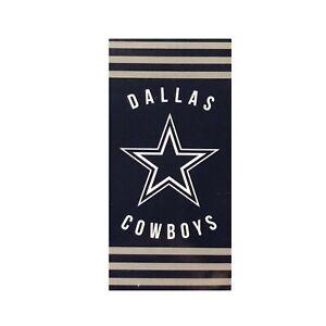 "New Football Team Dallas Cowboys Beach Towel Bath 30'' x 60"" Licensed Stripes"