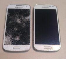 LOT OF 2 Samsung Galaxy S4 Mini (SCH-i435) White - Sprint - No Power