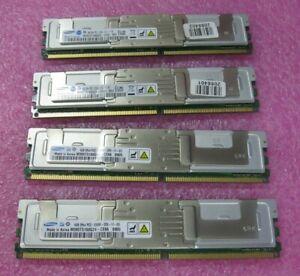 16GB Kit  ( 4 * 4GB Dimm ) 2Rx4 PC2-5300F M395T5160QZ4-CE66 Samsung