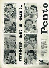 K- Publicité Advertising 1960 Crème Pento Cheveux