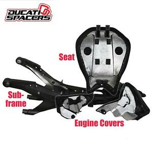 Ducati V2 Panigale Heat Shield Kit (All Models) By Ducati Spacers