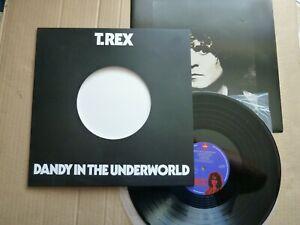 MARC BOLAN & T. REX - DANDY IN THE UNDERWORLD - REISSUE 180GM VINYL LP - DIECUT