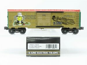 O Gauge 3-Rail K-Line K641-7403 Christmas Holiday Box Car #1998