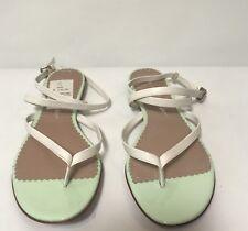 Jean-Michel Cazabat Talasa Women US 8 Mint Thong Sandal