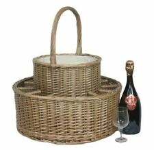 Красная корзина охлажденные напитки корзины для пикника