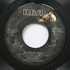 Country 45 Alabama - As Right Now / Forty Hour Week (For A Livin') On Rca