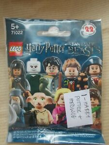 NEW LEGO HARRY POTTER 71022 COLLECTABLE MINIFIG SERIES HOGWARTS ROBES & HEDWIG
