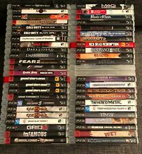 PS3 Games ** You Pick ** Over 50 games to choose from - Free Shipping !!!