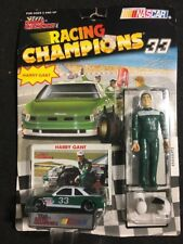 RACING CHAMPIONS HARRY GANT #7 CHEVY  CAR, FIGURE $ CARD & STAND 1/64