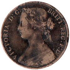 More details for 1860 one penny of queen victoria /  high grade /     #jan69