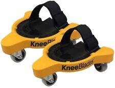 Milescraft Rolling Knee Pads Adjustable Plastic Tapered Gel Knee-Blades Durable