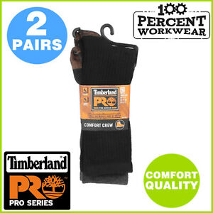 Genuine Timberland Pro Crew Work Socks Hard Wearing Safety Boots Hiking Shoes