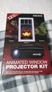 Window FX Animated Window Projector Kit 12 Seasonal Holiday Display Productworks