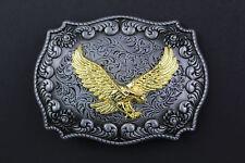 Golden eagle boucle de ceinture métal pays occidental AMERICAN