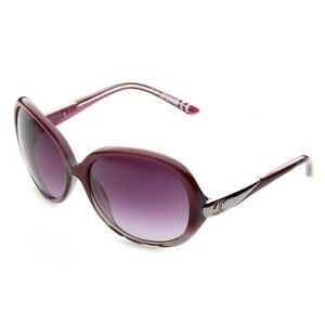Just Cavalli Sonnenbrille JC318S_83P Damen Lila Silber Sunglasses NEU & OVP