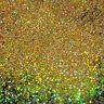 100g XL Metal Flakes Bright Gold Holo Auto Car Tuning Effektlack Pigment 0,6mm