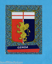 PANINI CALCIATORI 2000/2001- Figurina n.508- GENOA - SCUDETTO/BADGE -NEW