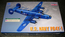 MINICRAFT 11659 UNITED STATES NAVY PB4Y-1 AIRCRAFT PLASTIC MODEL KIT 1:72 SCALE
