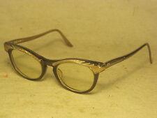 vintage Romco eyeglasses glasses retro cateye cat eye  Alum plastic & metal +