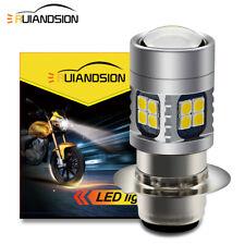 1PC Yellow H6M P15D 3030 22 LED Motorbike Headlight Bulb Driving Lamp DC6V-30V