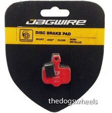 Jagwire Semi Metallic Hydraulic Disc Brake Pads Avid Elixir 1 3 5 7 9 CR XX Mag