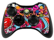 Graffiti Hip Hop Xbox 360 Control Remoto controller/sticker Skin / Cover / Vinilo xbr18