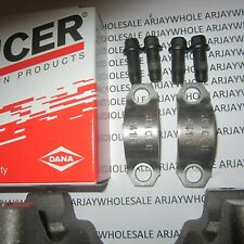 Spicer 1310 U Joint Strap Kit 2 Straps,4 Bolts Chevy, Jeep, Ford, Chrysler