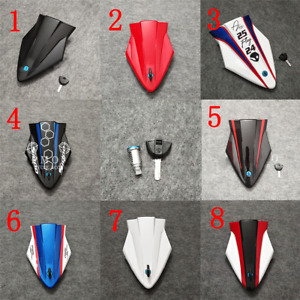 Fit for BMW S1000RR 2015-2018 Rear Hard Seat Cover Cowl Fairing Part + Seat Lock