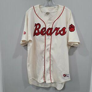 Rare VTG Rawlings Authentic Denver Bears #21 Baseball Jersey Mens 48 XL Sewn