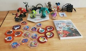 Wii Lot Disney Infinity Game Infinity Base 10 Figures Play Sets Power DiscGame