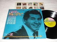 "Trini Lopez ""On The Move"" 1964 Rock/Pop LP, VG+, Reprise 3-Color, Mono"