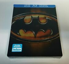 BATMAN 1989 Blu-ray STEELBOOK [Future Shop Canada] BRAND NEW /OOS/OOP /BILINGUAL