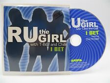 RU The Girl With T-Boz and Chili ♫ I Bet ♫ DJ PROMO RARE CD ♫ Arista ♫ NM