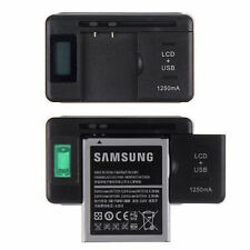 Mobile Universal Battery Charger LCD Indicator Screen For Cell Phone USB-Port Q9