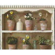 As Creation Vaso di fiori carta da parati giardino Mensola dipinto REALISTICO