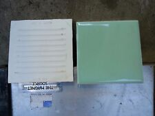 1 Pc American Olean Vintage Ceramic Wall Tile 4 Spring Green Color