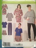 Simplicity  Sewing Pattern 2190 Misses Ladies Pants Skirt Dress Tunic 14-22