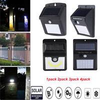 30 LED Énergie Solaire Détecteur de Mouvement Lumière Lampe de Jardin Extérieur