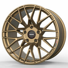 """19"""" MOMO RF-20 Gold 19x9 19x10 Concave Forged Wheels Rims Fits Infiniti G37 G37S"""