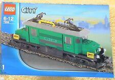 LEGO® Eisenbahn Bauanleitung, Bauplan der Lok - 7898 - NEU