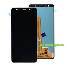 DISPLAY LCD+TOUCH SCREEN SAMSUNG GALAXY A7 2018 SM-A750FN/DS VETRO SCHERMO NERO
