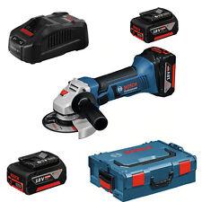 batterie Bosch Meuleuse angulaire GWS 18-125 V LI x 2 6,0 Ah accus chargeur