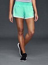 Gap Women's Aqua Tide gsprint Shorts Size S