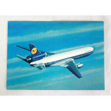 Lufthansa Airways - DC10 - Flugzeug Postkarte - Fluglinie Ausgabe